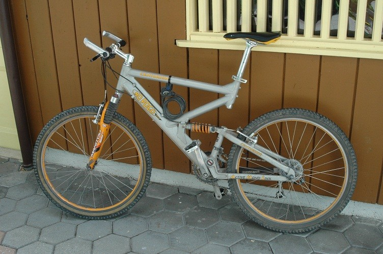 Altes Mountainbike